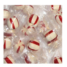 Piedmont Soft Peppermint Puffs - Mint Candy, Clear Wrapped- 2 lbs