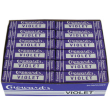 Chowards Violet Mints  24 Packs Free Shipping
