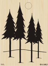 Silhouette Majestic PInes - 757L