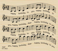 Birthday Sheet Music  763P