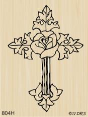 Flower Cross - 804H