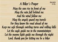 Biker's Prayer - 818L