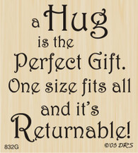 A Hug is the Perfect Gift - 832G