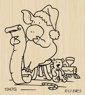 Leonard Pig's Christmas List - 1047G