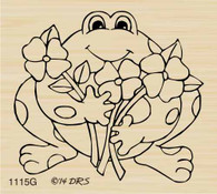 Friendly Flower Frog - 1115G