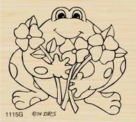 Friendly Flower Frog - 1115G