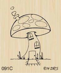 Mushroom House - 091C