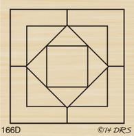 Designer Quilt Square - 166D