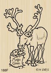 Feeding Reindeer - 188F
