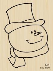 Medium Mr. Snowman - 242H