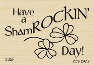 Shamrockin Day Greeting - 335F