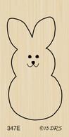 Simple Easter Bunny - 347E