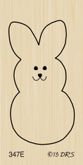 Simple Easter Bunny - 347E