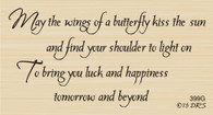 Butterfly Kisses Greeting - 399G