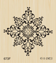 Medium Filigree Snowflake - 673F