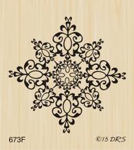 Medium Filigree Snowflake - 673F