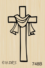Small Easter Cross - 748B