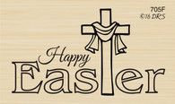 Happy Easter Cross - 705F
