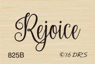 Small Rejoice Greeting - 825B
