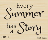 Summer Story Greeting - 881C