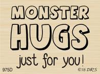 Monster Hugs Greeting - 975D