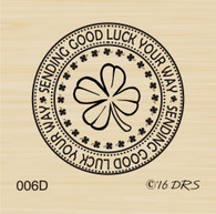Irish Good Luck Circle - 006D