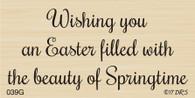 Springtime Easter Greeting - 039G