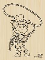 Lasso Cowgirl - 220H