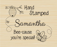 Bumble Bee Custom Hand Stamped by Stamp - 63023