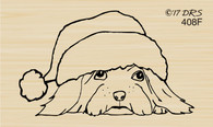 Santa Puppy - 408F