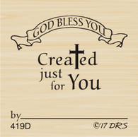 God Bless Recognition Stamp - 419D