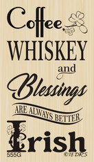 Better Irish Blessings Greeting - 555G