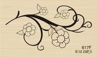 Flower Scroll - 617F