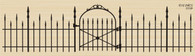 Iron Fence & Gate - 771P