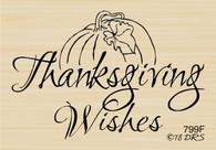 Pumpkin Thanksgiving Wishes - 799F