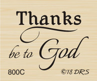 Thanks be to God Greeting - 800C