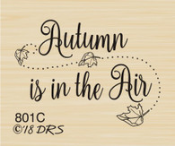 Autumn in the Air Greeting - 801C
