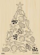 Seashell Christmas Tree - 808L