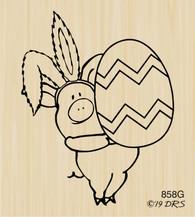 Easter Ears Leonard Pig - 858G