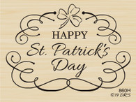St. Patrick's Shamrock Scroll - 860H
