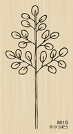 Open Leaf Branch - 861G