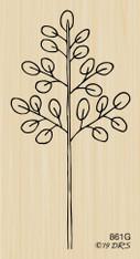 Open Leaf Branch - 861G