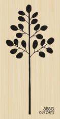 Silhouette Leaf Branch - 868G