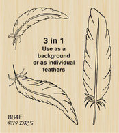 Feathers 3 in 1 - 884F