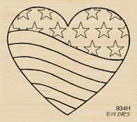 Patriotic Heart - 934H