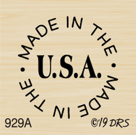 Made In USA Circle - 929A