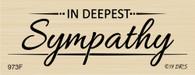 Deco Deepest Sympathy - 973F