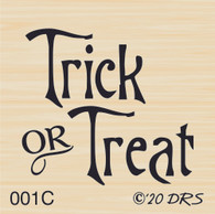 Small Trick or Treat Greeting - 001C