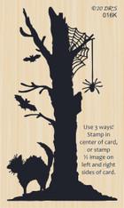 Silhouette Halloween 3 in 1 Tree - 016K
