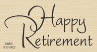 Brush Happy Retirement Greeting - 186G